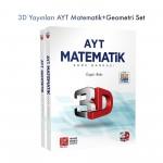 3D Yayınları AYT Matematik + Geometri Set