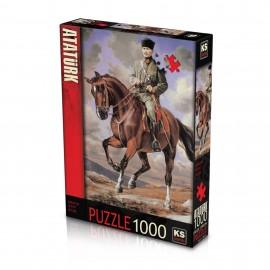 Ks Games Puzzle Mustafa Kemal Atatürk (1000 Parça)